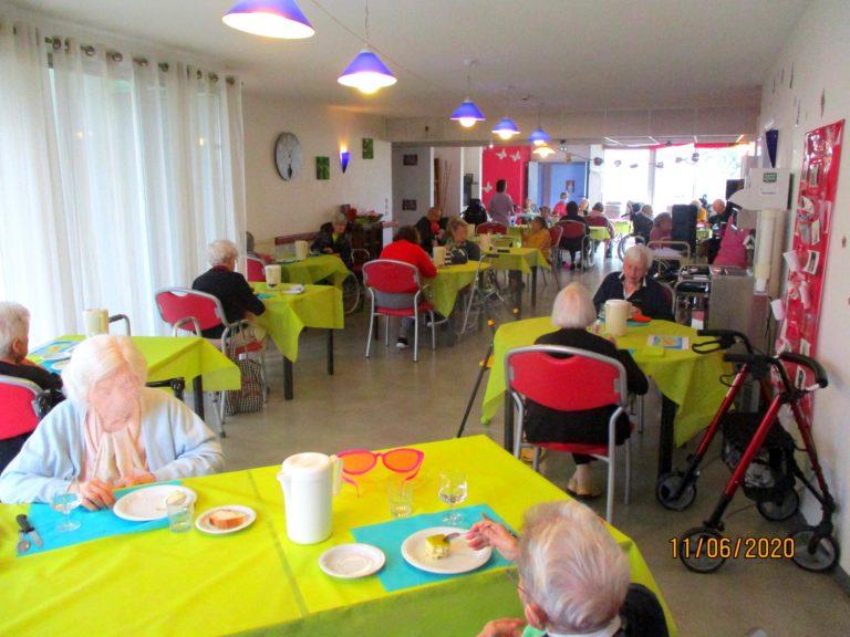 Un repas aux couleurs de la Corse et des animations dans les salons…