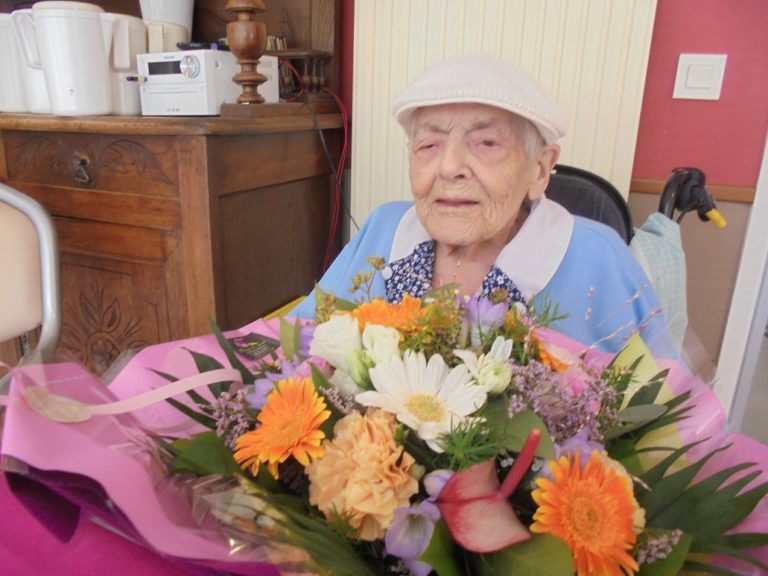 100 ans de Mme RETAILLEAU Lucienne