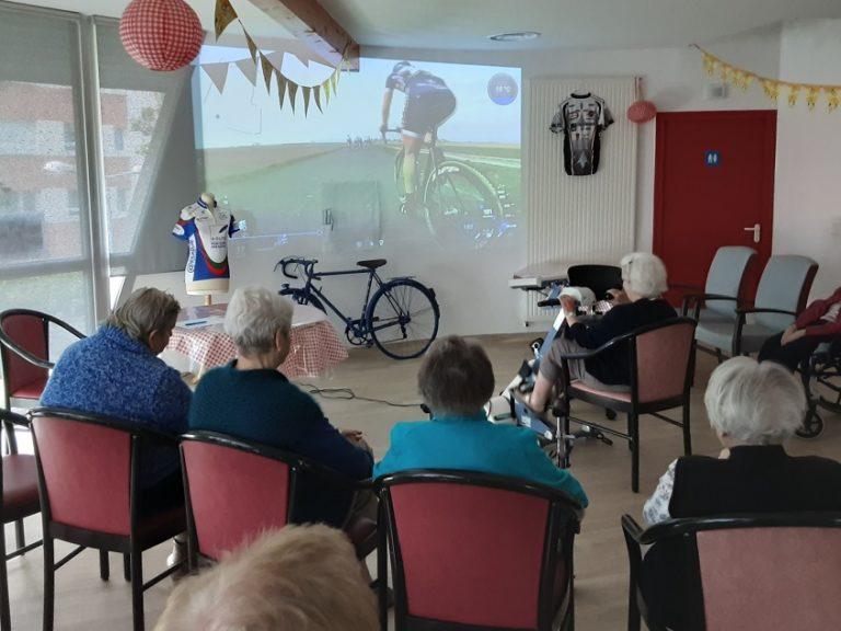 Les résidents du Parc du Carmel sont prêts à avaler les kilomètres pour le défi Tour de France