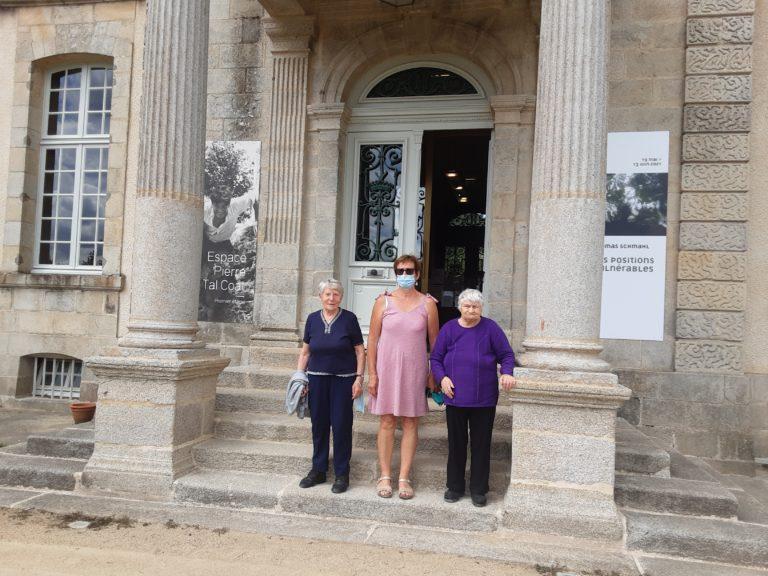 Visite au Château de Kerguehennec
